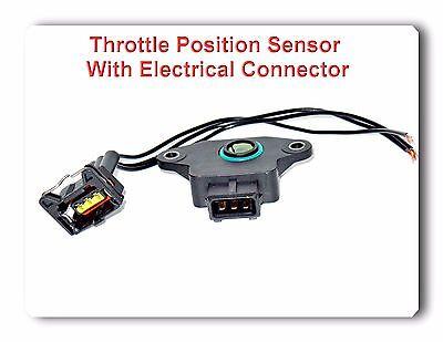 Throttle Position Sensor W/ Connector Fits: KIA Rio Sephia Spectra Sportage