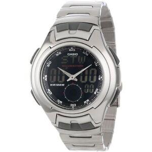 Casio men 39 s aq160wd 1bv ana digi electro luminescent sport watch 79767800789 ebay for Luminescence watches