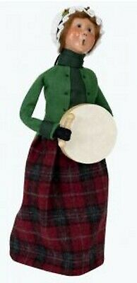 Byers Choice KELLY FAMILY WOMAN with Drum Holiday Caroler ...