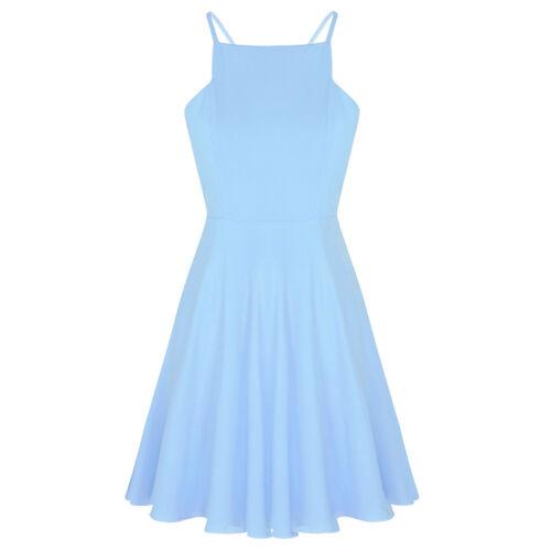 Femmes V-cou de mariage demoiselle d/'honneur Bal Prom robe de soirée formelle robe longue