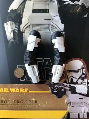 Hot Toys Star Wars SOLO Patrol Trooper MMS494 Black Shirt loose 1//6th scale