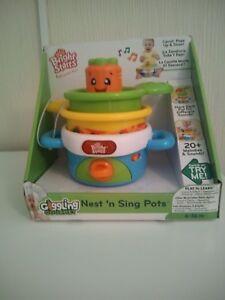 Bright-Starts-Nest-N-Sing-Pots-brand-new
