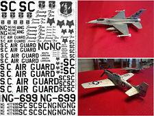 F-16s MONTANA /& KANSAS ANG DECAL SUPER SCALE INTERNATIONAL 32-81
