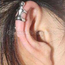 2x Climbing Man Naked Climber Ear Cuff Clips Uppers Helix Cartilage Earring Hot