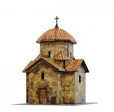 Cardboard model kit. Armenian Orthodox Church in Karmravor. Scale 1/87 HO.