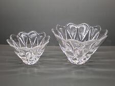 2 Orrefors Fuentes de cristal - Daisy - Anne Nilsson - 8 kg