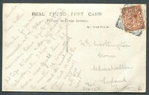 GREAT-BRITAIN-SQUARED-CIRCLE-CANCEL-034-CHORLEY-034-ON-POSTCARD