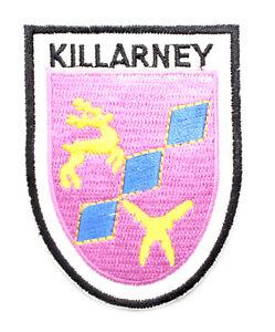 Irish Killarney Crest Shield Embroidered Iron/Sew-on Cloth Badge Patch Appliqué