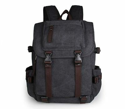 J.M.D Mens Cowhide Leather Travel Backpack Practical Climbing Hiking Rucksack