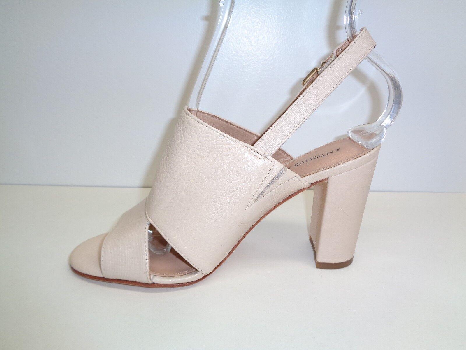 Antonio Melani Größe 6 M HAINES HAINES M Beige Leder Heels Sandales New Damenschuhe Schuhes 97b3bc