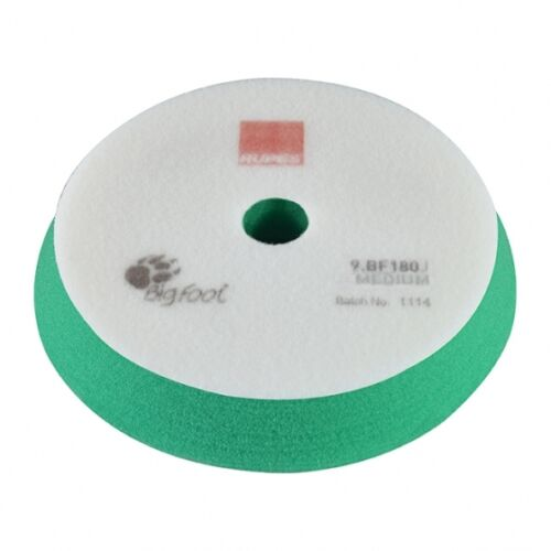 7 Inch Rupes Green Foam Medium Pad for 6 Inch Backing Plate 9BF180J