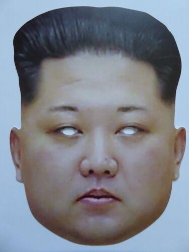1st Class Post Great for Parties Kim Jong Un Celebrity Face Mask