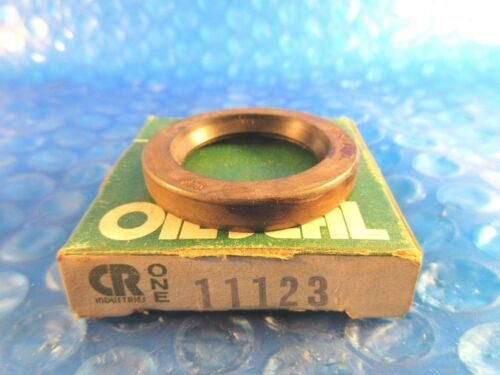 CR11123 CR 11123 Chicago Rawhide 11123 Single Lip With Spring Shaft Seal