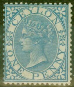 Ceylan-1868-1d-Bleu-SG61-Fin-Legerement-MTD-Excellent-Etat