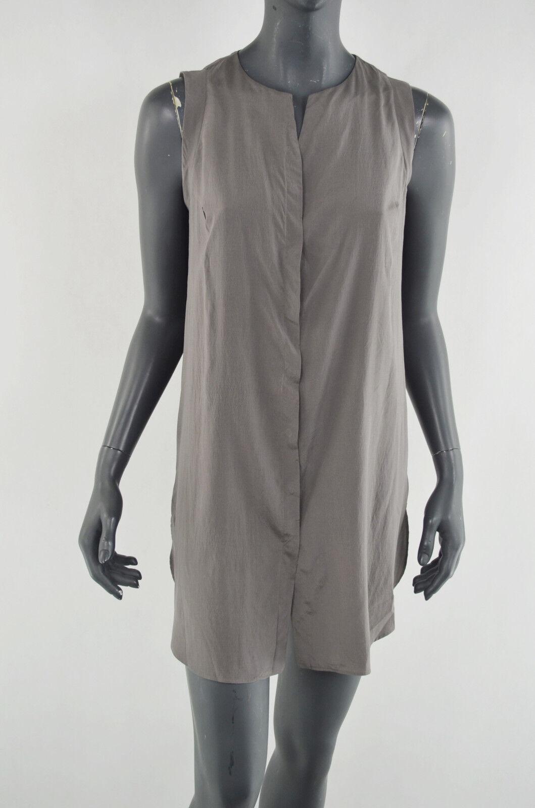 BRUNELLO CUCINELLI  ITALY SILK    kleid dress Größe M