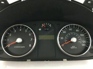 Hyundai-Getz-2002-2012-Cromo-Ajuste-De-Calibre-Dial-Anillos-Aleacion-Pulido-Nuevo-x2