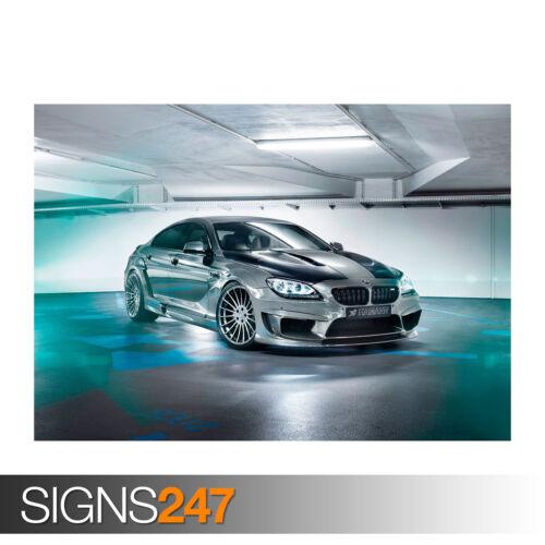 Toutes Les Tailles 0172 Voiture Poster-Photo Poster print ART Hamann BMW M6 Gran Coupé