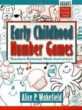 Early Childhood Number Games: Teachers Reinvent Math Instruction, Pre-K through