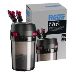Filtre externe Hydor Prime 30 avec matériaux filtrants pour aquarium
