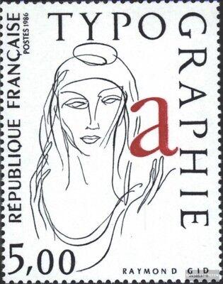 Postfrisch 1986 Buchdruckkunst 50% OFF kompl.ausg. Charitable Frankreich 2537