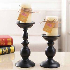 Candle Pillar Holder Wedding Metal Candlestick Gold Decor Candelabra Table Stand