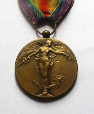WORLD WAR ONE BELGIUM  VICTORY MEDAL / PAUL DUBOIS