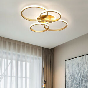 Wohnzimmer Schlafzimmer Lampe Led Moderne Deckenlampe Eingebetteten Kronleuchter Ebay
