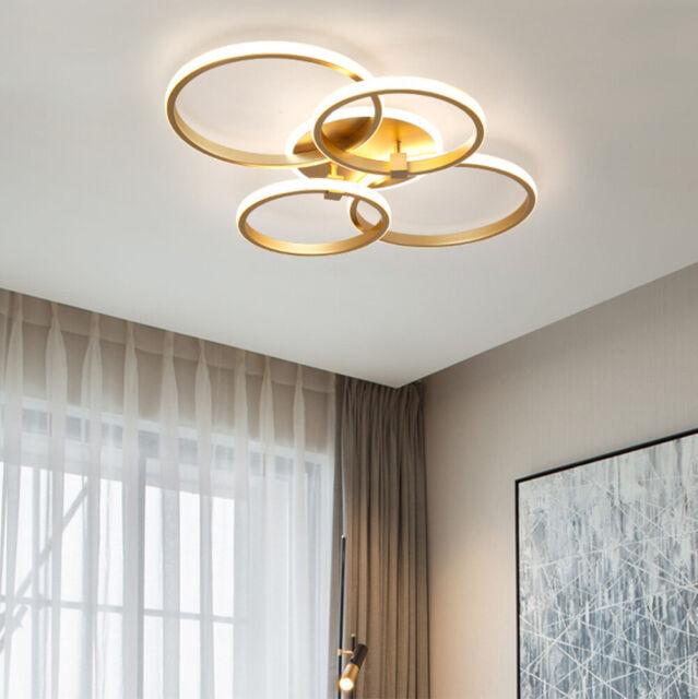 Luxus LED Deckenleuchte Ring Design Schlaf Wohn Zimmer Lampe Flur Küchen Leuchte