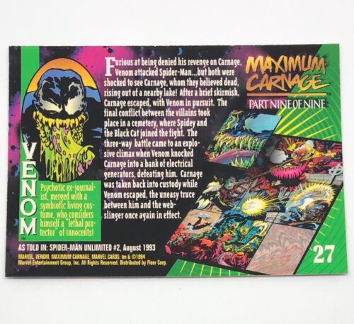 FINISH YOUR SET** NRMT 1994 Fleer Marvel Universe V **PICK YOUR CARD
