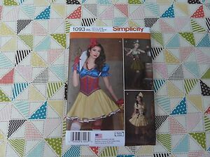 NEW Simplicity 1093 Andrea Schewe Steampunk Cosplay corset ...