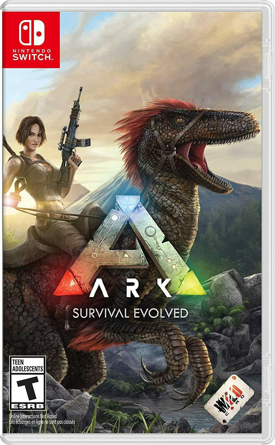 ARK: Survival Evolved- Nintendo Switch [Action Adventure Survival Dinosaurs] NEW