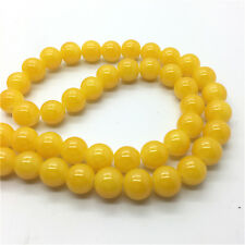 100Pcs 4mm Jade Color Glass Pearl Round Spacer Loose Beads Jewelry Making #4M32
