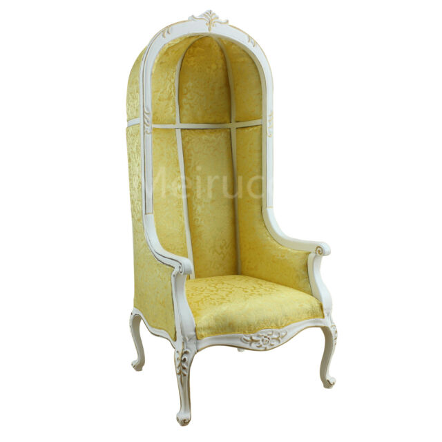 Charmant Dolls Furniture Model 1:6 Scale Distinctive Neoclassical Armchair Eggshell  Chair