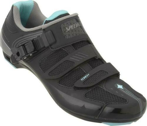 Specialized Torch Womens Black//Teal 38 Size 7.25 Road Cycling Cycling Shoes
