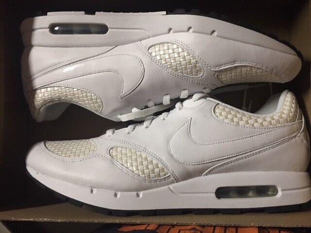 Nike Air Zenyth Sneaker Neu 90 95 95 95 97 Gr:41 US:8 Weiß/Weiß  366624-100 Leder 4460c4