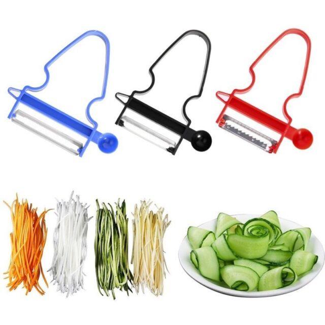 Kitchen Magic 3pcs/Set Peeler Trio Slicer Shredder Julienne Fruit Cutter Tools