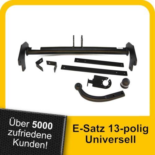 AHK Anhängerkupplung starr+ES 13p uni Für Peugeot Expert II ab 07 Kpl