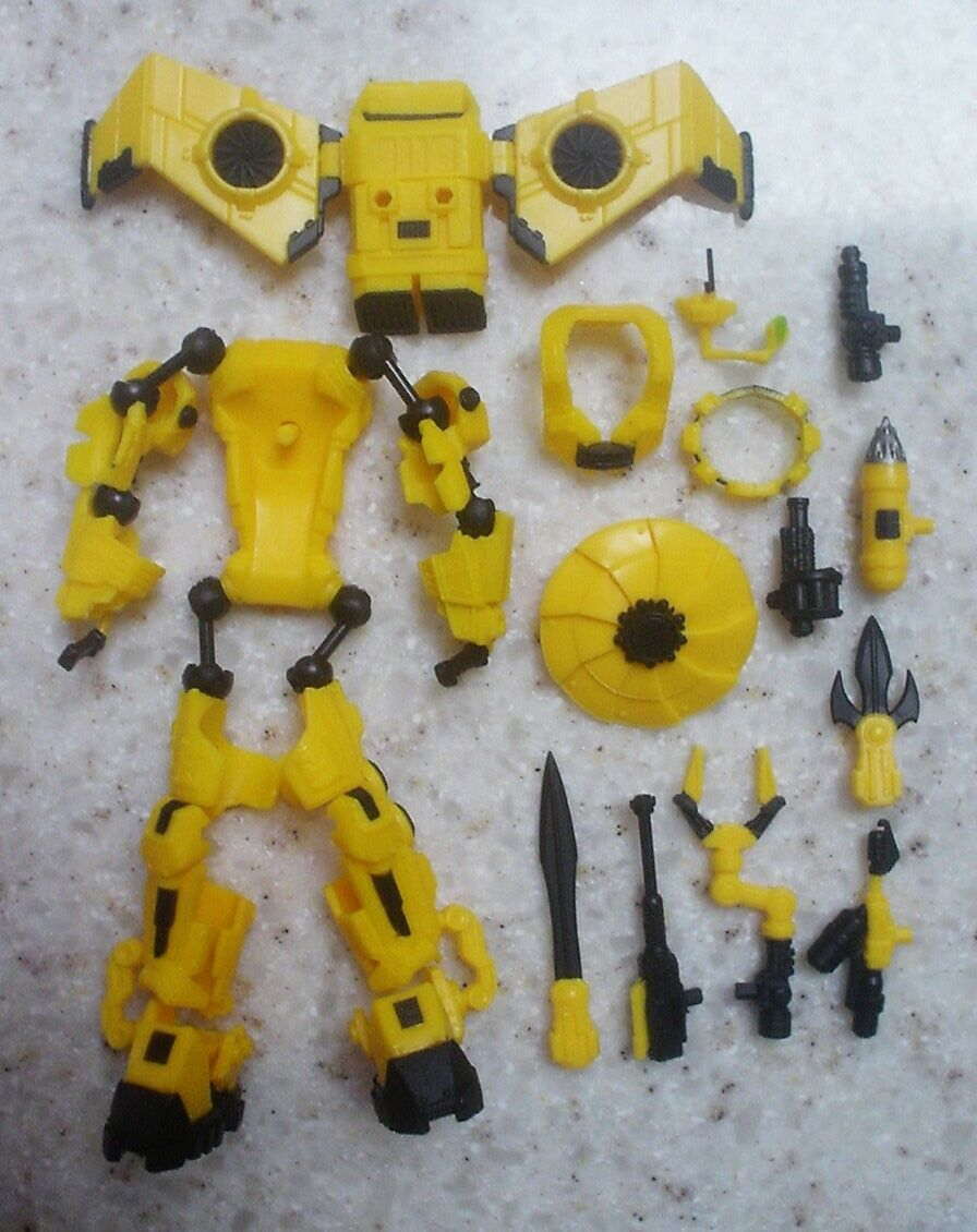 EXO-SUIT YELLOW Marauder Task Force suit & accessories 1 18 GI Joe Power Loader