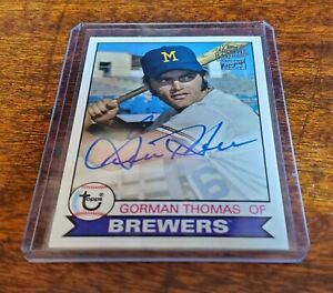 GORMAN-THOMAS-AUTO-2019-TOPPS-ARCHIVES-FFA-GT-FAN-FAVORITES-MILWAUKEE-BREWERS