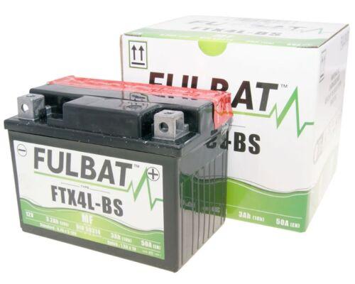 Suzuki AP 50 Fulbat FB4L-B Gel High Power 5Ah Battery