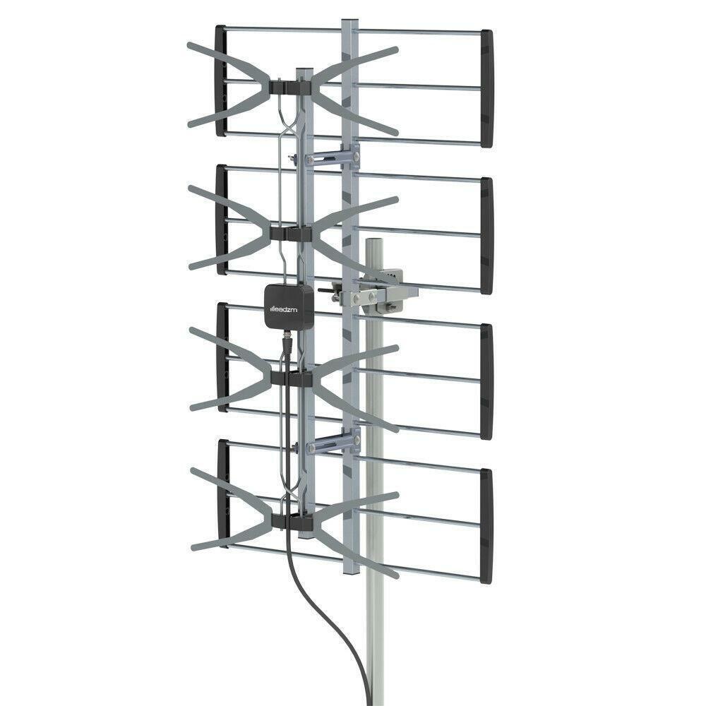 leadzm Leadzm 100Mile Range HDTV 1080P Outdoor Amplified TV Antenna Digital Signal UHF