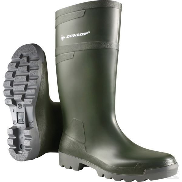 Genuine Dunlop Green Hobby Rubber Boots Green Dunlop W486711 Free Postage 138001
