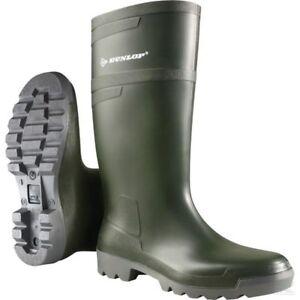 Hobby Stivali Verde Dunlop Spedizione Vera Pelle gratuita W486711 in FH5vHCxwq