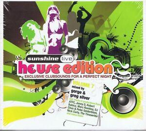 Sunshine-Live-House-Ed-Vol-7-NEU-2-CD-ROBERTO-RODRIGUEZ-ERIC-BORGO-Sercan