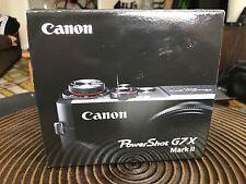 Canon PowerShot G7 X Mark II 20.2 MP Digital Camera - Black