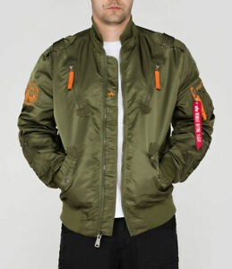 Detalles de Alpha Industries verano chaqueta