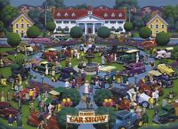 Classic Car Show - 1000pc Jigsaw Puzzle by Dowdle Toys