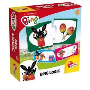 BING LOGIC 16 Mini Puzzle Logici Giochi Educativi Bambini LISCIANI