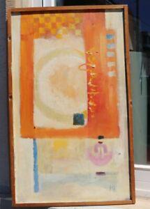 Monogrammist - Farbenfrohe abstrakte Komposition um 1960