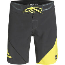 "NEW* QUIKSILVER 36 BOARDSHORTS SHORTS SWIMSUIT 19"" Grey Bonded AG47 $125 Retail"
